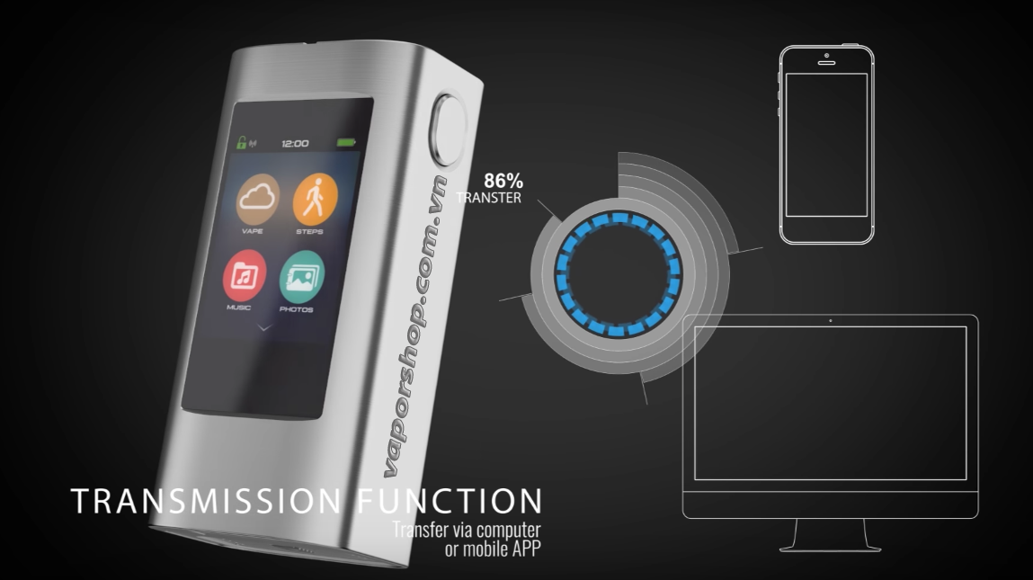 Joyetech Ocular and Ocular C with touchscreen panel 3