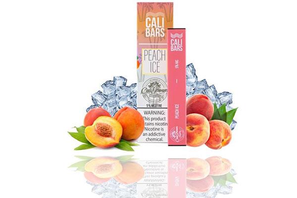 Cali Bars Peach Ice
