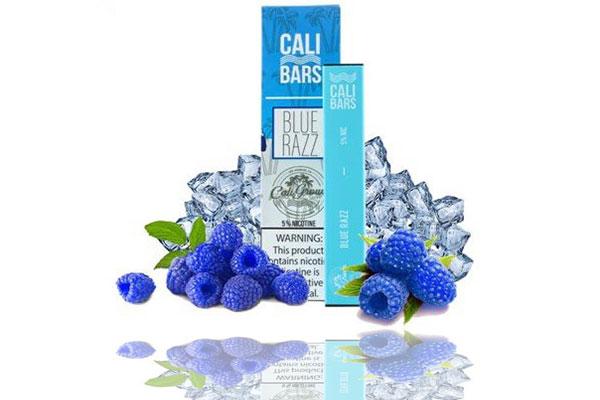 Cali Bars Blue Razz Ice