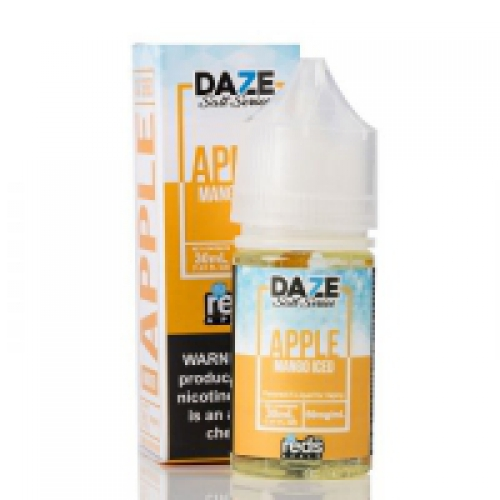 MANGO REDS APPLE ICED 7 DAZE SALT 30ML