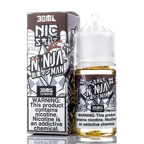 NINJA MAN BY SENGOKU VAPOR SALT NIC 30ML