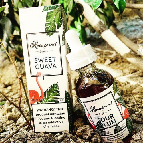 RAINFOREST ELIQUID SWEET GUAVA ICE 60ML