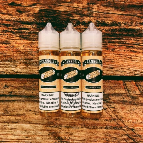 Cannoli ELiquid by Primitive Vapor 60ml