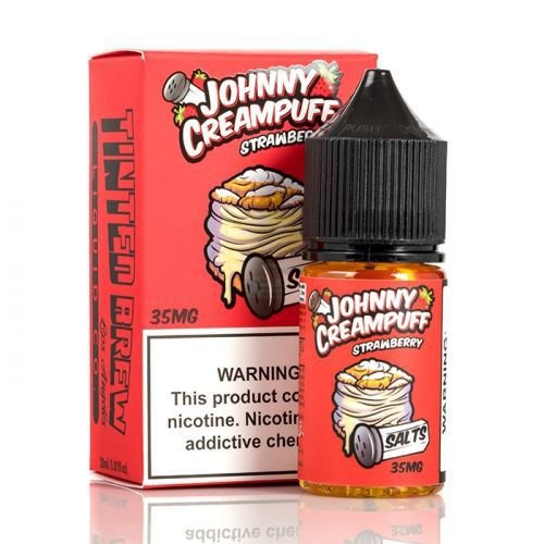 JOHNNY CREAMPUFF SALTS STRAWBERRY 30ML