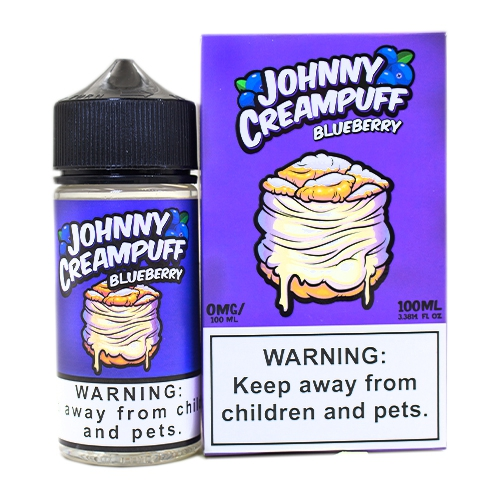 JOHNNY CREAMPUFF BLUEBERRY 100ML BY TINTED BREW