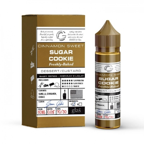 Glas Cinnamon Sweet Sugar Cookie Freshly Baked 60ml