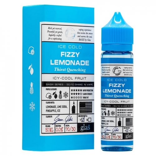 Glas Ice Cold Fizzy Lenmonade Refreshing 60ml